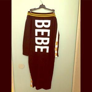 Logo dress by Bebe